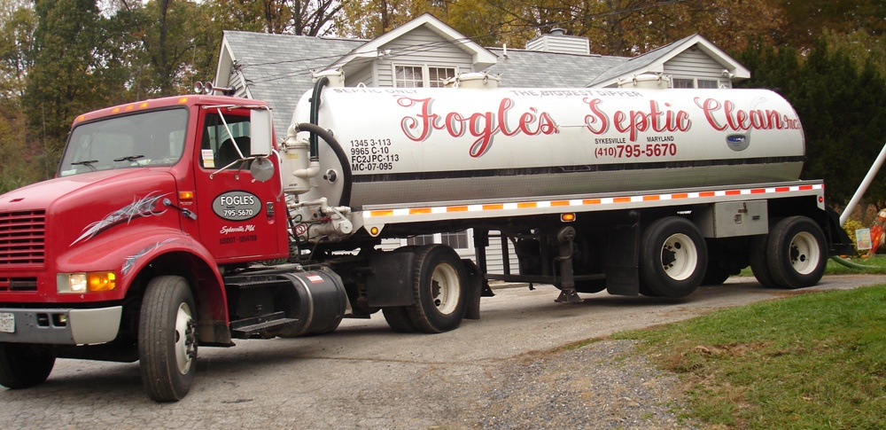 Fogles Septic Tank Cleaning Howard County Septic Pumping